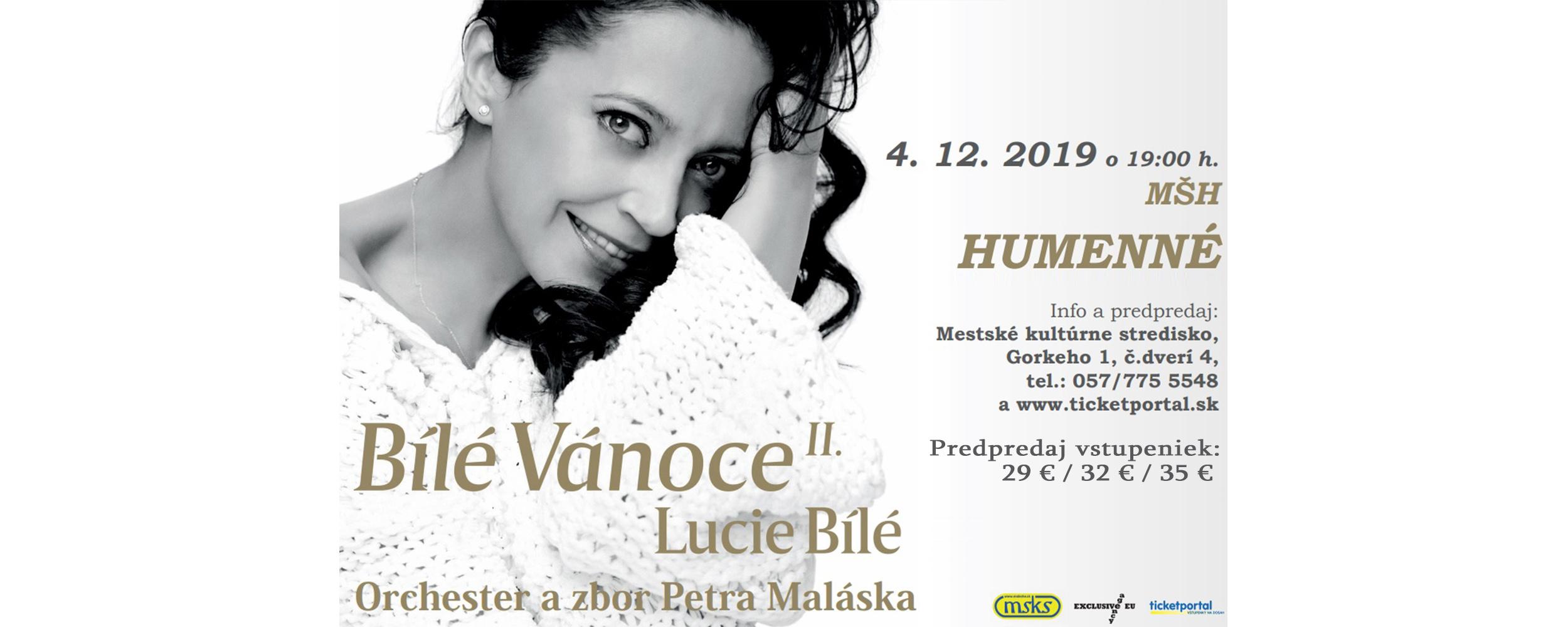 Lucie Bílá v Humennom!