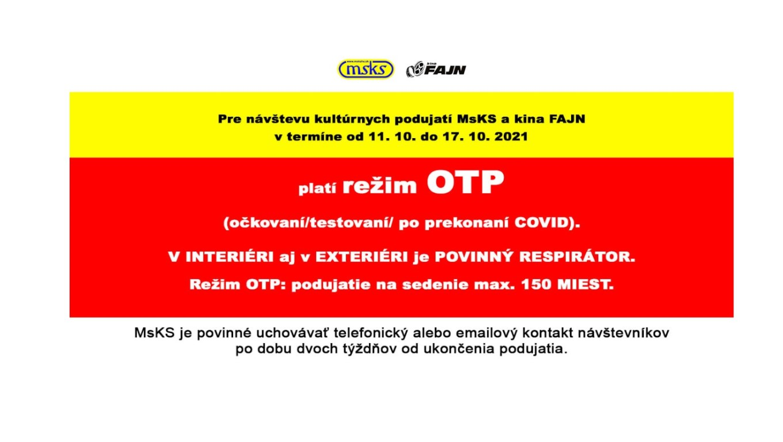 OTP 11. - 17. október 2021